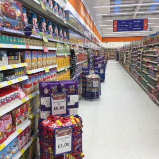 B&M Skegness stocks a huge range of food and grocery.