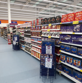 B&M Spalding - Westlode Street sells a huge range of big brand confectionery, from Cadbury to Mars and much more in between.