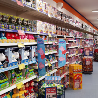 B&M's new Stone store stocks a huge range of toys and games, suitable for girls and boys of all ages!