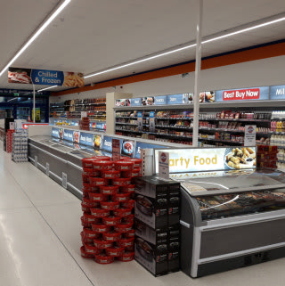 B&M's newest store in Eston boasts a delicious range of frozen food, from pizza and ice cream, to meat and vegetarian options.