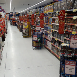 B&M's newest store in Eston boasts a huge selection of seasonal goods, like chocolate and biscuit boxes that are ideal for Christmas.
