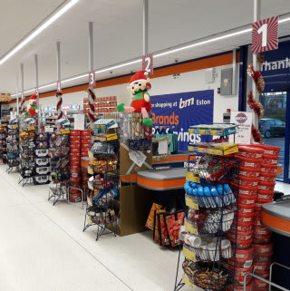 A first glimpse of B&M's newest store, which opened in Eston, Middlesbrough on Thursday (15th November 2018).
