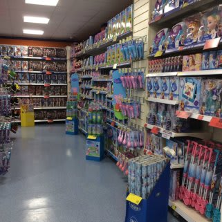 The new B&M Bacup store has a wide range of kids toys and games.