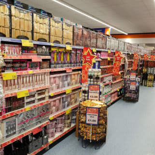 B&M's brand new store in Rochdale boasts a great range of gifts for the whole family.