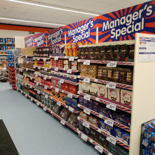 B&M's brand new store in Rochdale stocks all the latest B&M Manager's Specials, including great one-off deals and offers on groceries and electricals.
