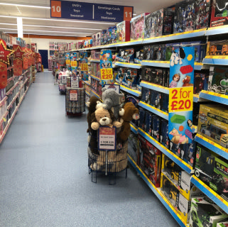 B&M's new store in Kendal stocks a huge range of all the latest toys and games, for boys and girls of all ages!