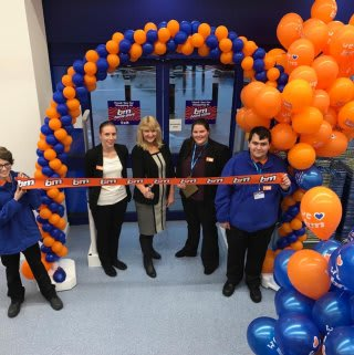 B&M's newest store in Dagenham was officially opened with help from local charity Carers of Barking & Dagenham. They received £250 worth of B&M vouchers as a thank you for their hard work in the community.