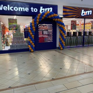 B&M's newest store opened in Leicester on Friday (7th December 2018). The store is located at Kemble Square, Haymarket Shopping Centre.