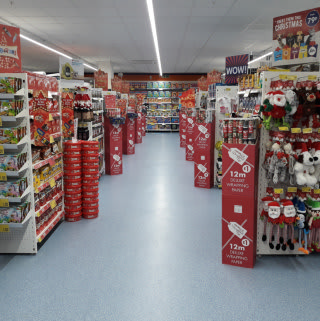 B&M's newest store at Haymarket Shopping Centre, Kemble Square, Leicester stocks everything you need for your regular weekly shop, from groceries and toys to homewares and electricals.