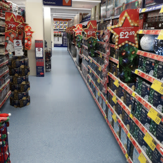 B&M's newest store at Haymarket Shopping Centre, Kemble Square, Leicester stocks a huge range of amazing Christmas essentials, from tree decorations and lights to wreaths, garlands and much more!