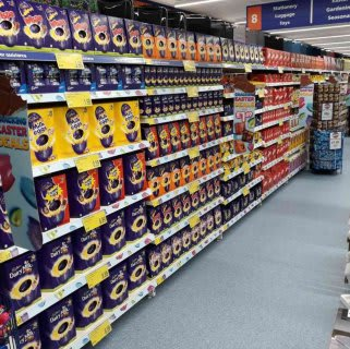B&M's recently opened York store, located at Clifton Moor Retail Park, stocks a great range of seasonal products, including delicious Easter eggs and confectionery from brands like Cadbury and Nestle.
