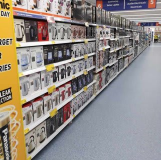 B&M's recently opened York store, located at Clifton Moor Retail Park, stocks a huge range of quality electricals, from kettles and toasters to TVs and Bluetooth speakers.