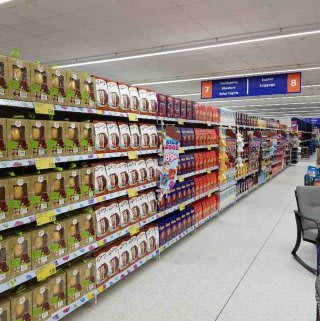 B&M's new store in Canvey Island stocks an egg-citing range of Easter eggs, from big brands like Cadbury and Nestle!