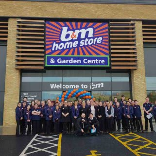 B&M's newest store team at Canvey Island Retail Park are excited to open their doors for their very first customers.