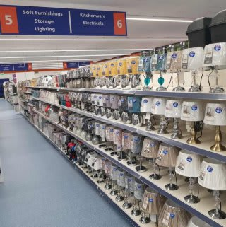 B&M's brand new store in Breightmet stocks a great range of lighting solutions, from lamps and LED string lights to shades and pendants.