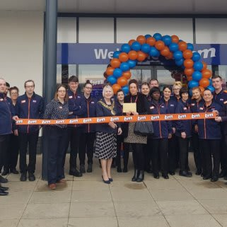 Store staff at B&M's new store in Breightmet were delighted to welcome Lord Mayor Cllr Elaine Sherrington, who cur the ribbon on opening day. Representatives from Heartlift, the store's chosen charity for opening day were also in attendance. The charity received £250 worth of B&M vouchers for taking part in B&M's special day.