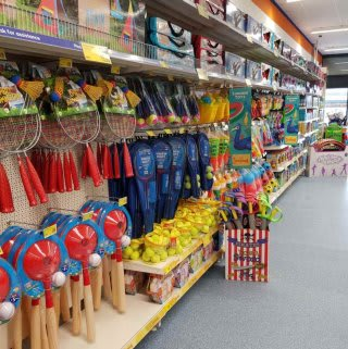 B&M's brand new store in Breightmet stocks a great range of outdoor toys for fun in the sun!