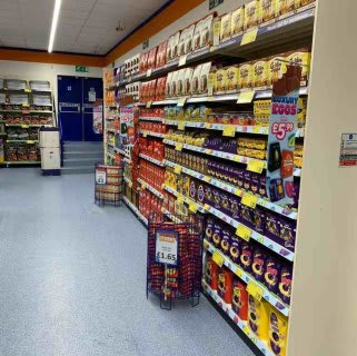 B&M's brand new store in Kirkby-in-Ashfield stocks a cracking range of Easter Eggs, from brands like Cadbury, Mars and Nestle.