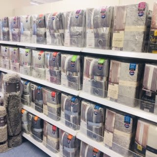 B&M's brand new store in Lurgan stocks a charming range of home decor and textiles, including curtains, voiles and panels for any room.