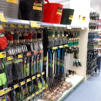 B&M's brand new store in Newmarket boasts a huge range of gardening tools, from spades and trowels to watering cans and hoses.