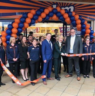 The store team is ready and the ribbon's been cut! B&M is open for business in Newmarket! You'll find B&M's newest store located in the heart of the town at The Guineas Shopping Centre.