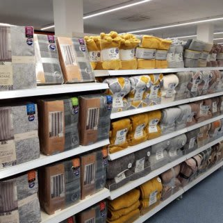 B&M's brand new store in Newmarket boasts a huge range of soft furnishings, from supersoft blankets to oh-so-cosy cushions.