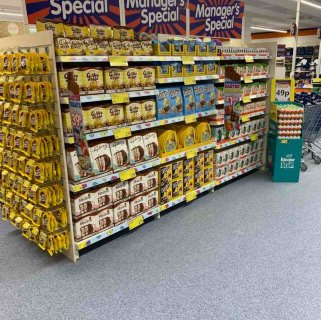 You'll find the full selection of this month's Managers Specials at B&M's brand new store in Crawley.