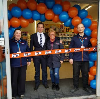 Store staff at B&M's new store in Bolton were delighted to welcome representatives from Wipe Your Tears, the store's chosen charity for opening day. The charity received £250 worth of B&M vouchers for taking part in B&M's special day.