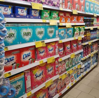 B&M's brand new store in Bolton stocks a sparkling range of cleaning products, from the biggest brands like Daz, Ariel, Lenor and much more!