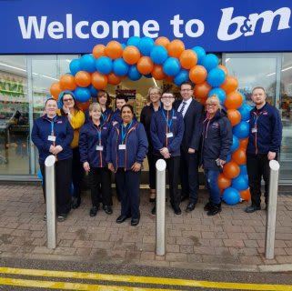 The store team is ready and the ribbon's been cut! B&M is open for business in Bolton! You'll find B&M's newest store located close to the town centre at Burnden Retail Park.
