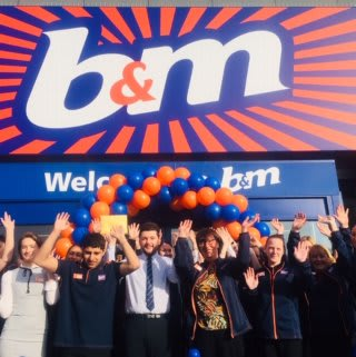 The store team at B&M's newest store in Huddersfield can't wait to welcome their very first customers through their doors.