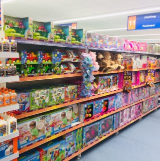 B&M's brand new store in Huddersfield stocks a huge range of toys for girls and boys of all ages.
