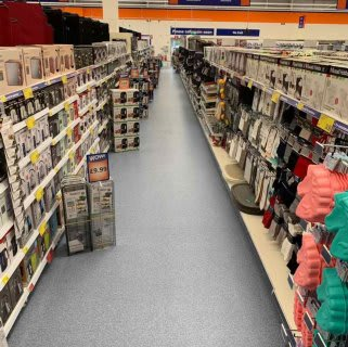 B&M's brand new store in Whitby stocks a great range of electrical items for the home, including TVs, Bluetooth speakers, toasters, irons and much more.
