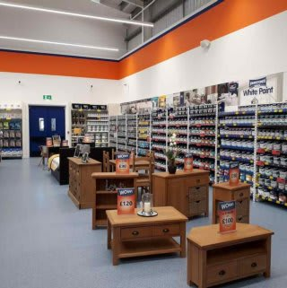B&M's brand new store in Whitby stocks a huge range of quality furniture: everything from wardrobes and beds to coffee tables and dining sets.