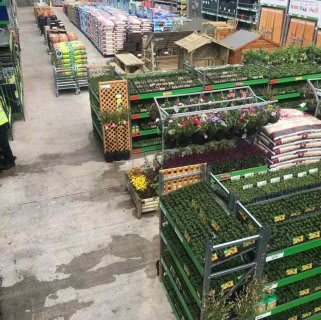 B&M's brand new store in Whitby boasts a 7400 sqft Garden Centre, selling everything from planters and plants, to sheds, fencing, aggregates and much more.