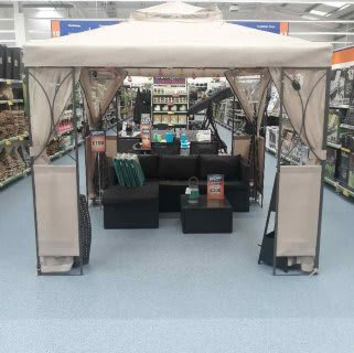 B&M's brand new store in Whitby stocks a huge range of quality garden furniture: everything from patio and dining sets, to sun loungers and gazebos.