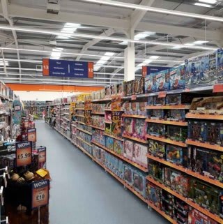 B&M's brand new store in Whitby stocks a great range of kids toys and games, from the biggest brands like LEGO, Disney, Hasbro and much more
