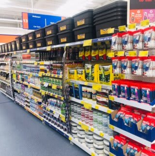B&M's brand new store in Newcastle-upon-Tyne stocks a huge range of DIY, decorating and painting supplies for any home project.