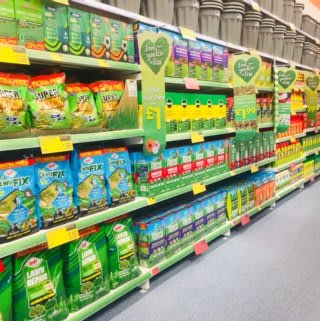 B&M's brand new store in Newcastle-upon-Tyne stocks a large range of garden care essentials.