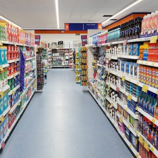 B&M's brand new store in Heywood stocks a huge range of cleaning products, from he biggest brands like Daz, Ariel, Comfort, Fairy and many more.