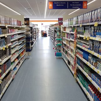 B&M's brand new store in Heywood boasts an extensive health and beauty range, stocked with everything from shower gel and shampoo to toothpaste, sun cream, moisturiser and much more!