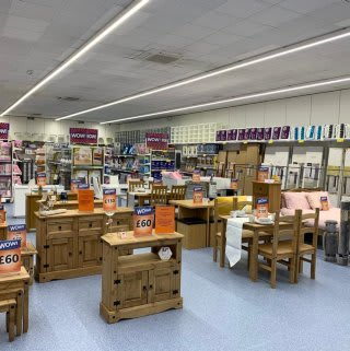 B&M's brand new store in Northampton stocks a huge range of furniture for the home, from dining sets and coffee tables to wardrobes and much more.