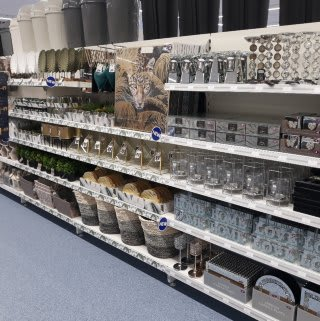 B&M's brand new store in Northampton stocks a stunning range of homeware and home decor accessories in the latest styles, from cushions and bedding, to candles and ornaments.