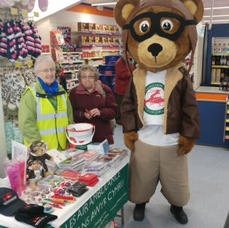Wales Air Ambulance and the RNLI were chosen by store staff as their nominated charity for the day.