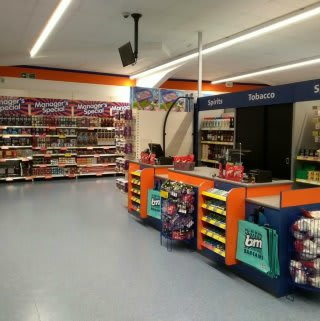 Inside B&M's new Bargain Store in Pwllheli, located on Lower Cardiff Road.