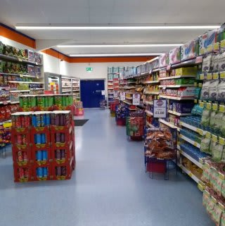 A first glimpse inside B&M's new Bargain Store in Pwllheli, located on Lower Cardiff Road.