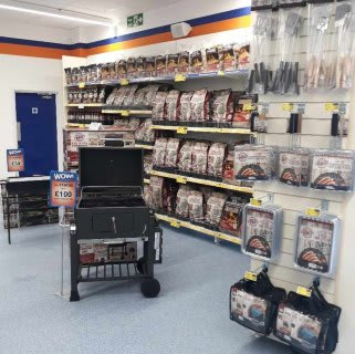 B&M's brand new store in Dover stocks a hot new range of BBQs - perfect for summer and family parties in the garden!
