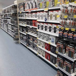 B&M's brand new store in Dover stocks a great range of electrical items for the home, including TVs, Bluetooth speakers, toasters, irons and much more.