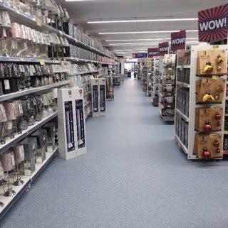 B&M's brand new store in Dover stocks a beautiful home and living range, including everything from lighting, lamps and home decor, to giftware, candles, cushions and throws.