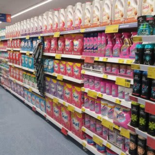 B&M's brand new store in Lichfield stocks the biggest laundry brands, whether you're looking for Daz, Ariel, Comfort or Fairy. There's a great range of washing detergent and fabric softener to choose from.